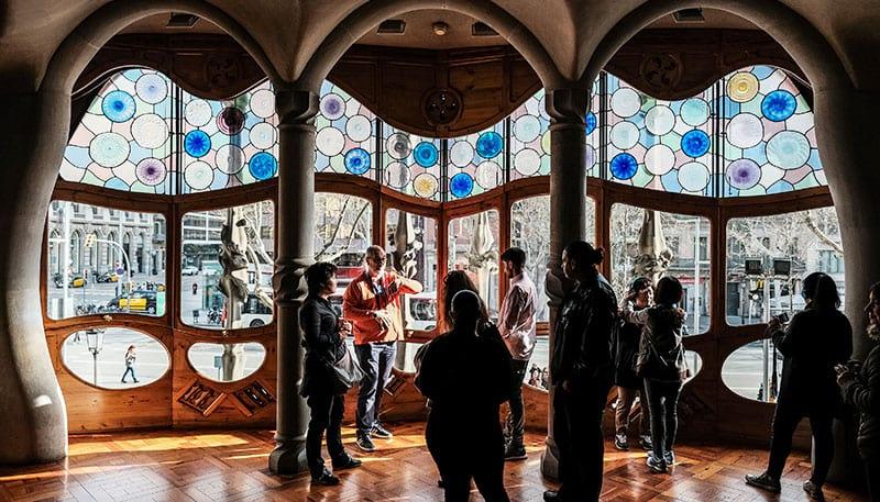 Eines von Gaudí's Meisterwerken