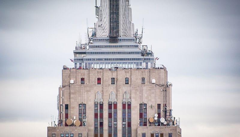 Aussichtsdeck des Empire State Buildings