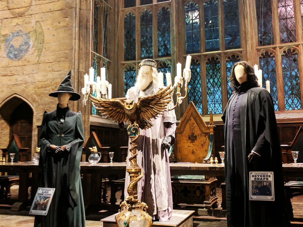 Harry Potter Studios Great Hall