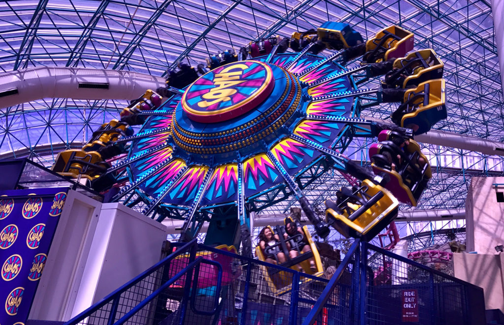 Find thrills and spills at the Adventuredome.