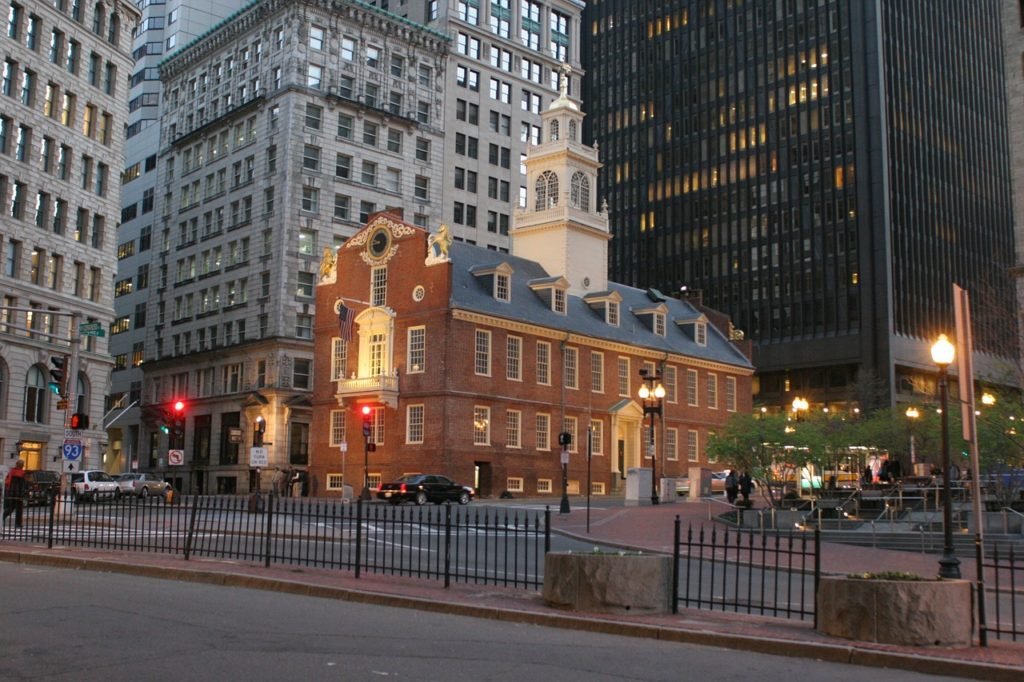 Old State House Boston Massacre