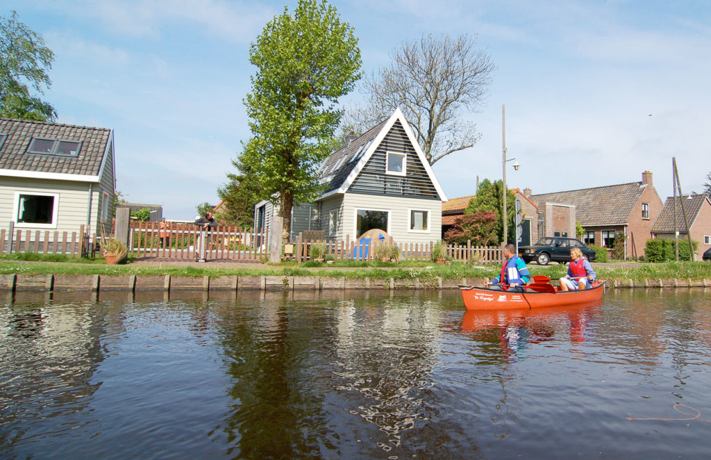 Canoe through Wetlands Amsterdam