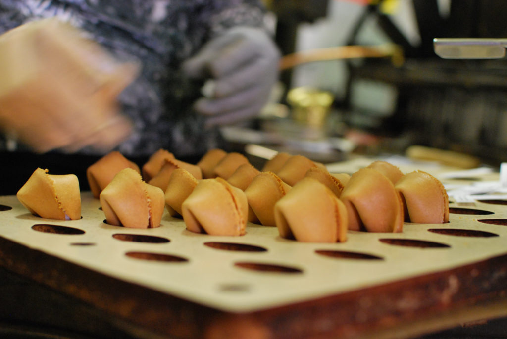 Be Amazed at the Golden Gate Fortune Cookie Factory