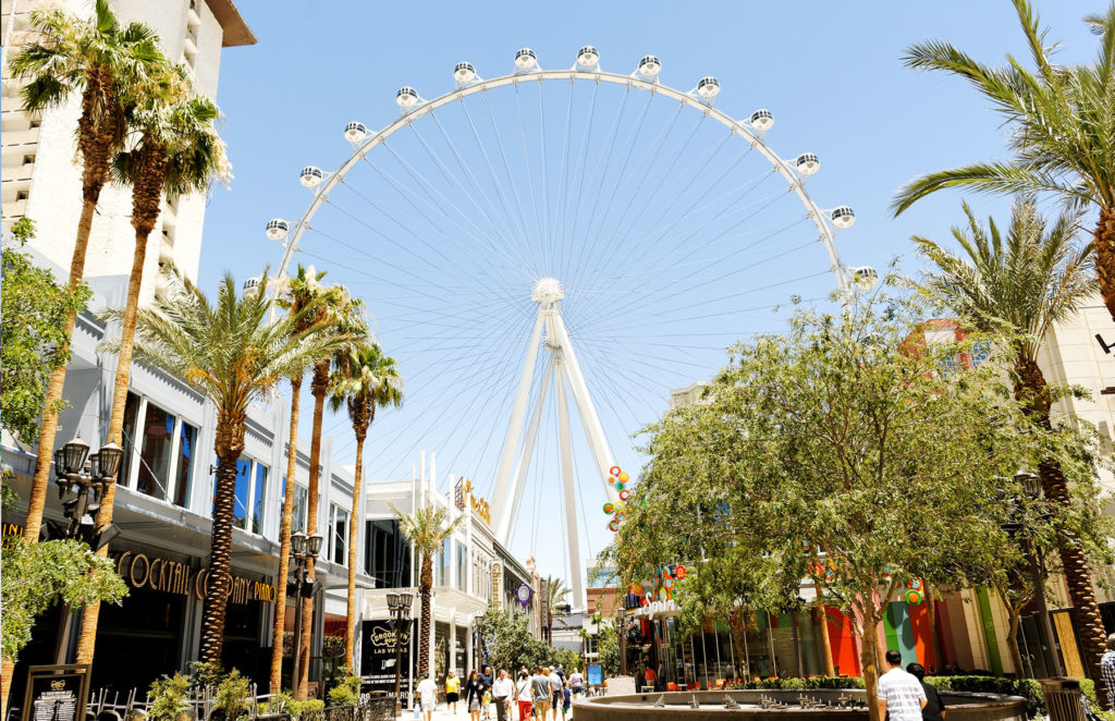 Ride the High Roller at the LINQ Hotel & Casino.