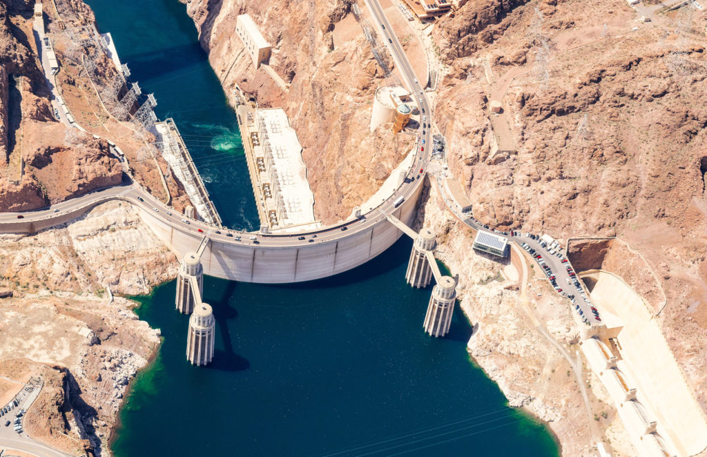 Enjoy a day trip to the Hoover Dam.