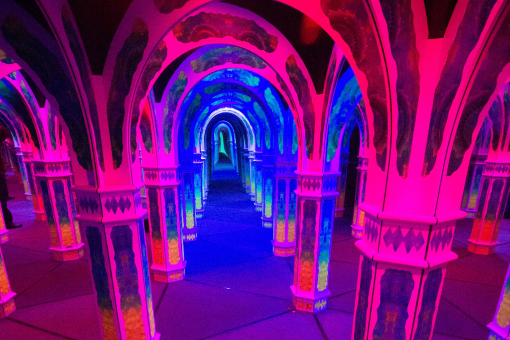 Get Lost in Magowan's Mirror Maze