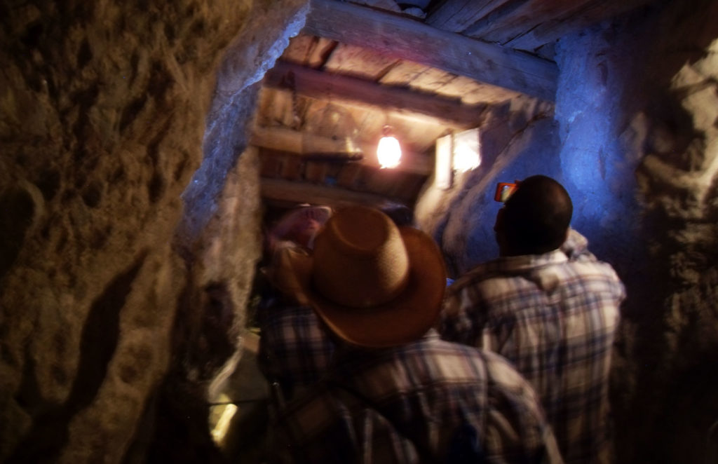 Get spooked on a tour of Techatticup Mine.
