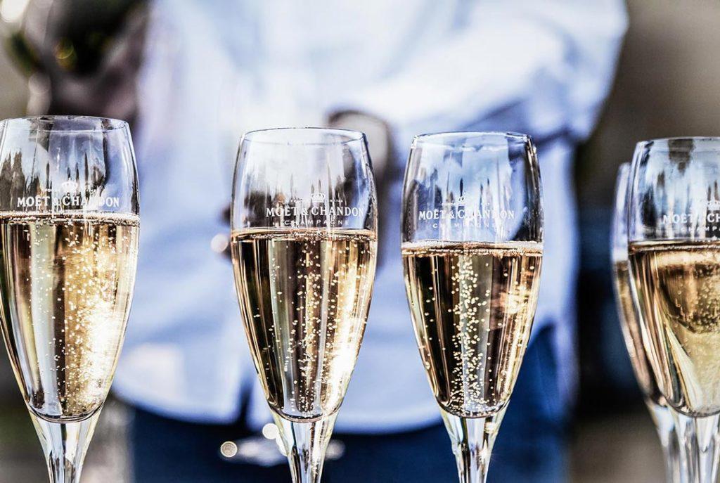 Champagner zu Silvester