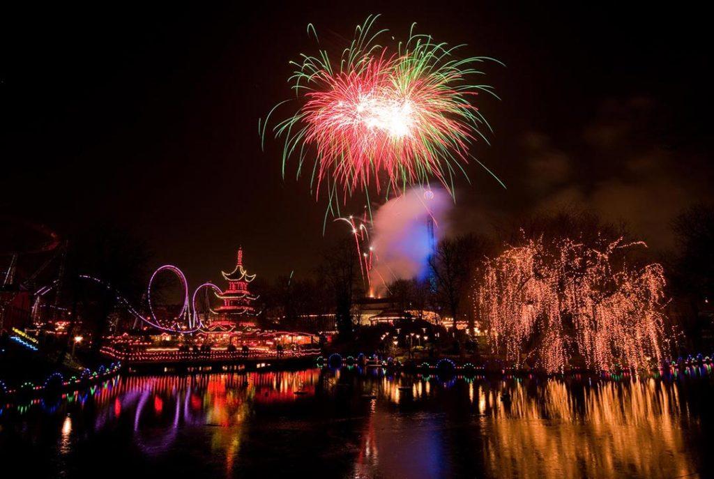Feuerwerk im Tivoli