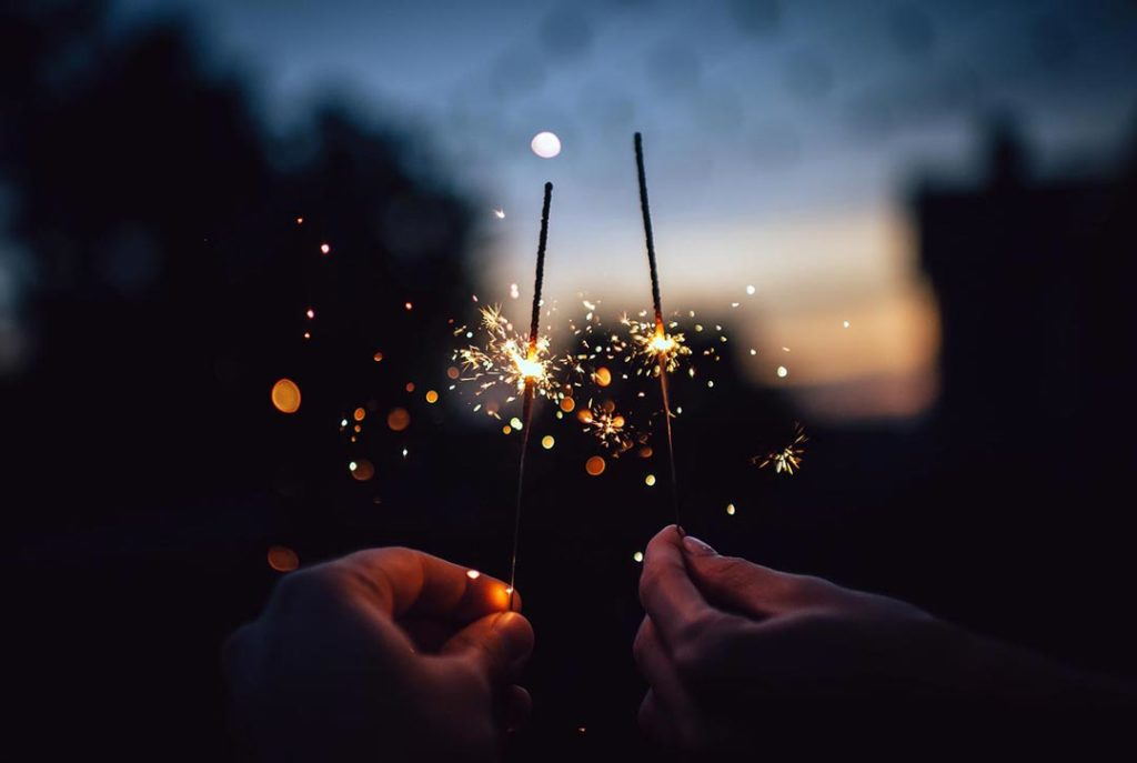 Fireworks and sparklers will light your way into 2020.